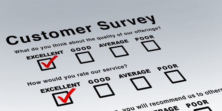 Example of a questionnaire for a customer survey