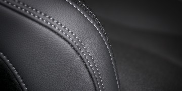 Seam on leather