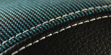 Sample applications of technical textiles: car seat
